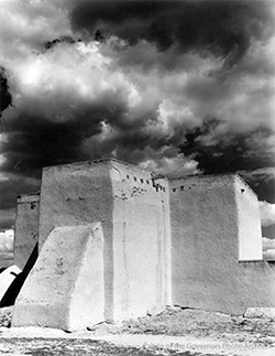 Church at Ranchos de Taos 1937
